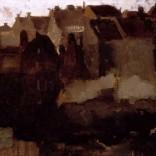 Georg Hendrik Breitner: Bouwput voor de Grand Bazaar de la Bourse op de Nieuwendijk in Amsterdam, 1903