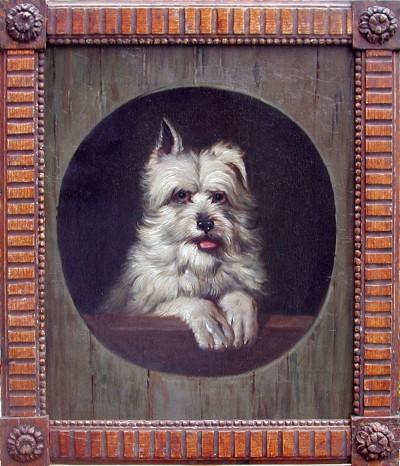 Bernard te Gempt, Portrait of a West-highland