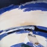 John Franklin Koenig: Cascan, Acrylics on canvas, 1984