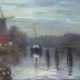 Johan Hendrik van Mastenbroek Molen de Adriaan in Haarlem