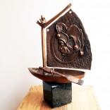 Andrij Kens, Ship of Fools sculpture