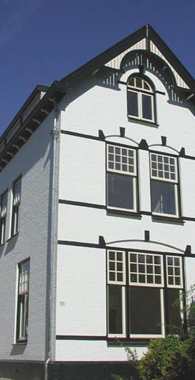 Het Witte Huis in Zwanenburg